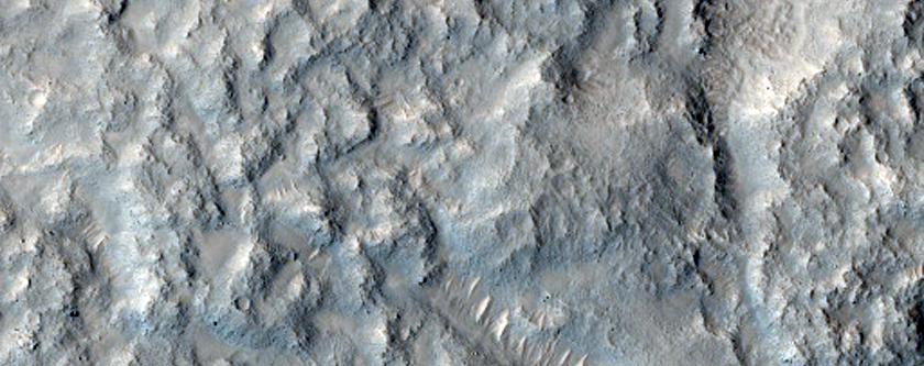 Ejecta of Fenagh Crater