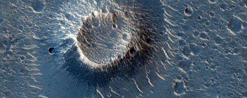 Crateri a forma di cono in Utopia Planitia