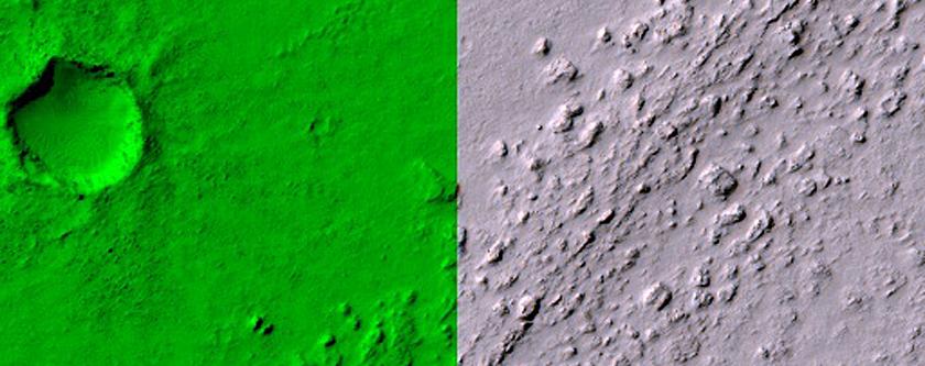 Marte Vallis Channel Floor