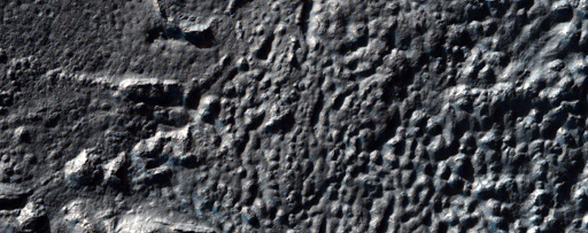 Crater Floor Deposits in Promethei Terra