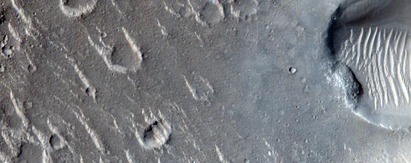Cratered Cones in Isidis Region