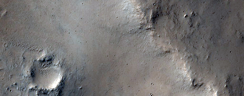 Cratered Plains in Arabia Terra
