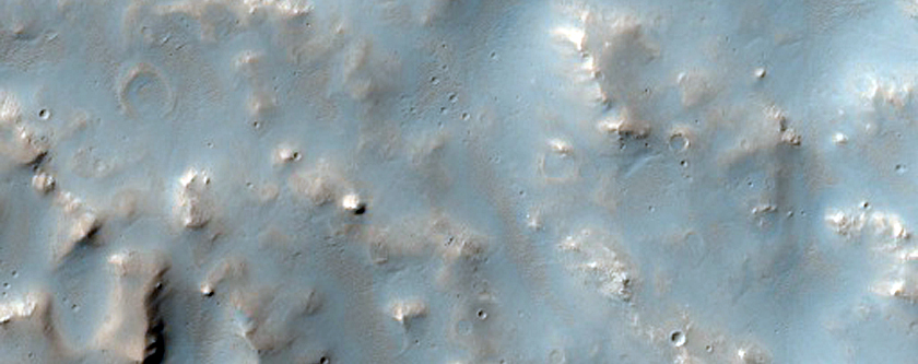 Huygens Crater
