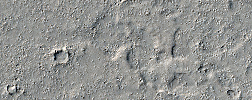 Landforms Associated with Group of Pits in the Cerberus Fossae Region