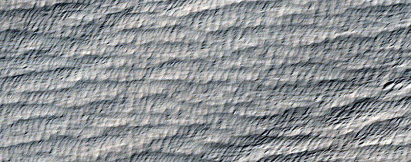 Medusae Fossae Terrain