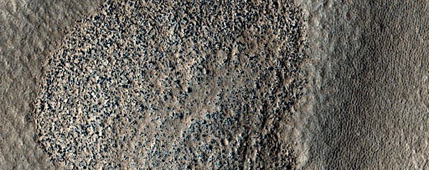 Valleys in Arcadia Planitia