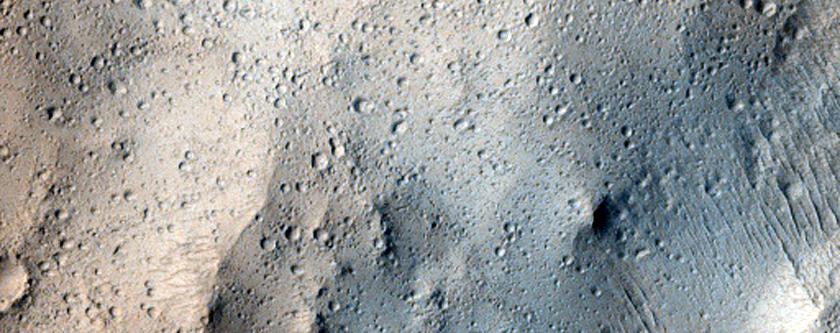 Olympus Mons Region