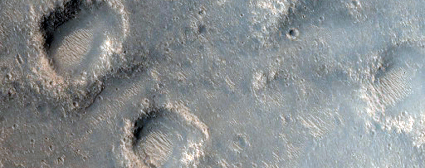 Unnamed Crater East of Isidis Region