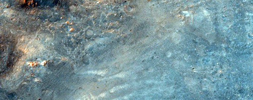 Syrtis Major Hydrated Crater Ejecta