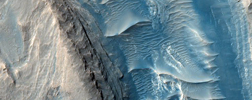 Inverted Riverbed in Gale Crater