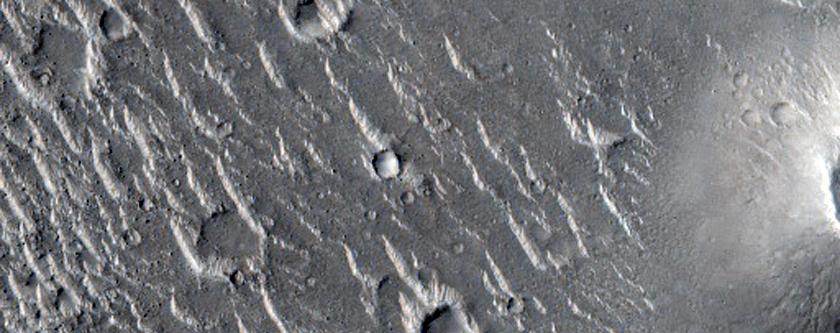 Cratered Cones in Isidis Planitia