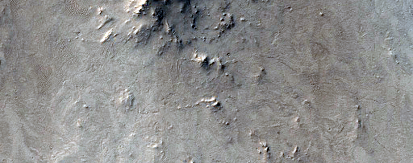 Rocky Terrain in East Arabia Region