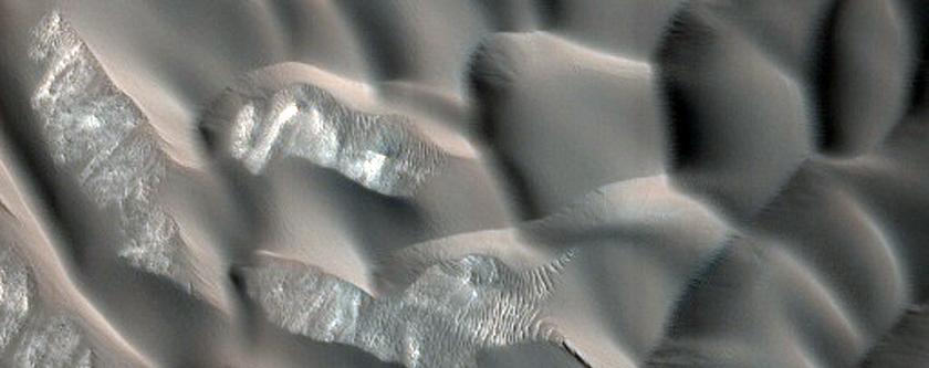 Multiple Slip Face Dunes