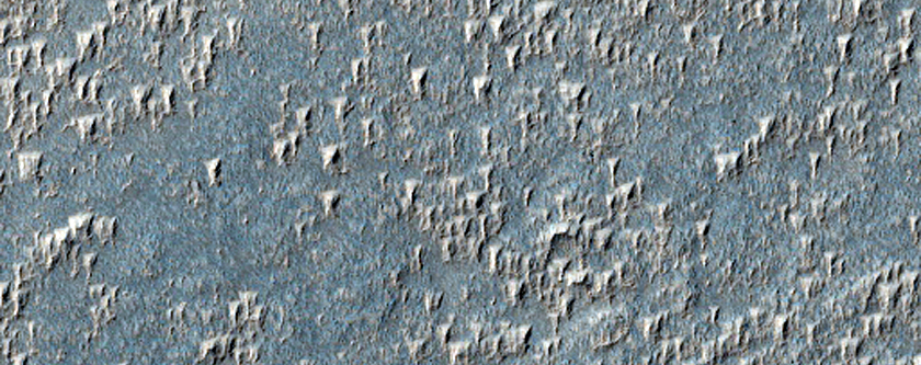 Syria Planum Isolated Dust Deposits