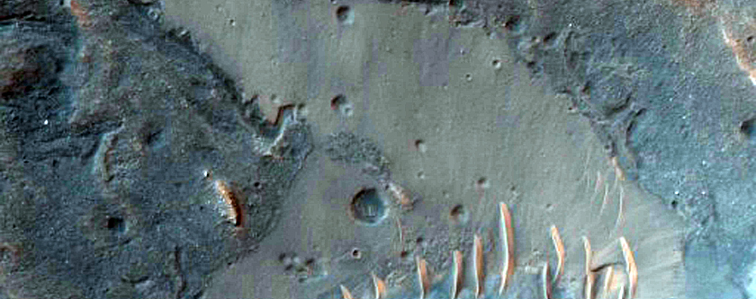 Water Bearing Minerals in Noctis Labyrinthus