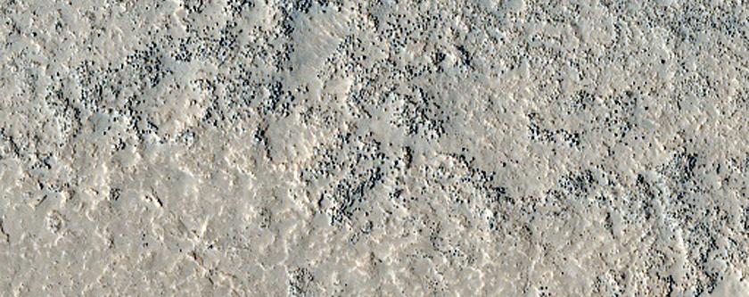 Possible Olivine-Rich Terrain
