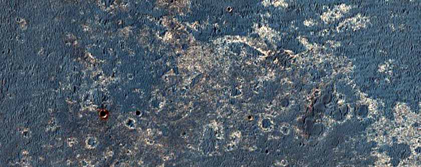 Light Toned Deposits and Plains in South Meridiani (MSL)