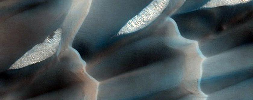 North Polar Gypsum Dunes