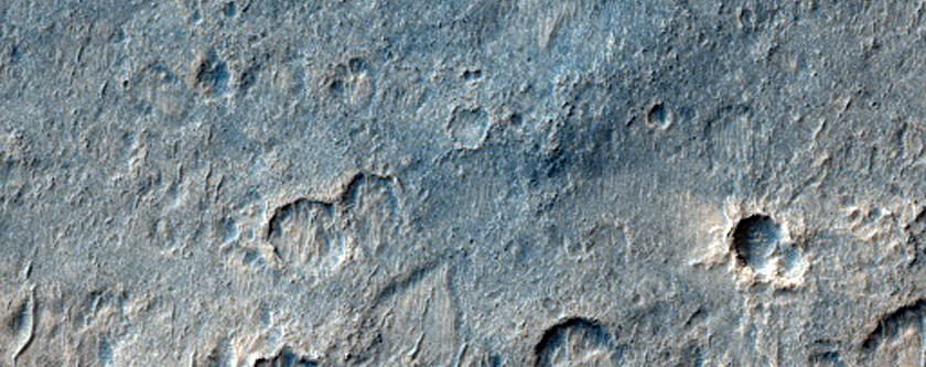 Sample in East Sinus Meridiani and West Schiaparelli Region