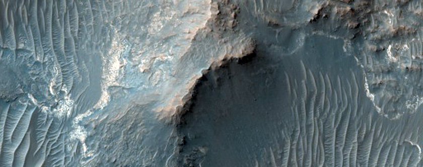 Layered Rocks in Iani Chaos