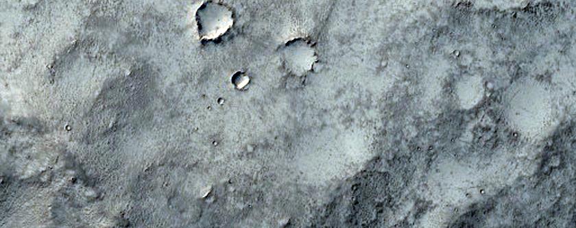 Sinus Region Crater Drainage