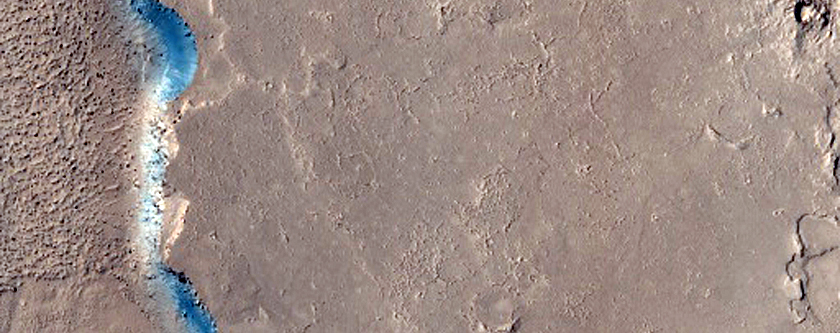 Distributaries From Athabasca Valles