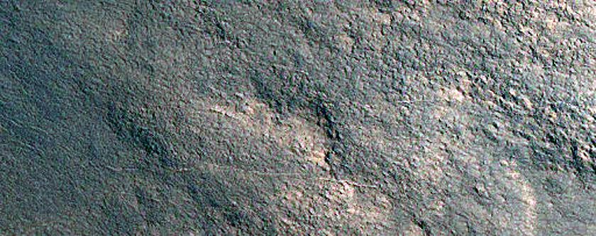 Western Half of Heimdal Crater