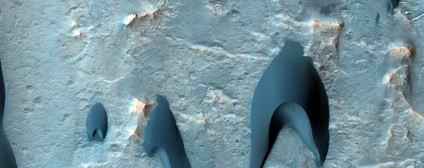 Possible Phyllosilicates in Mawrth Vallis