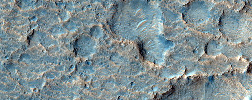 Proposed Landing Site for ExoMars Rover at Oxia Planum