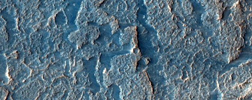 Flow on Floor of Kasei Valles