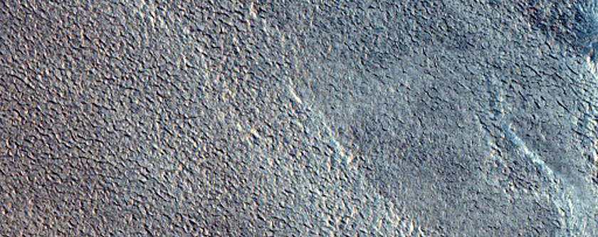 Streamlined Feature on Floor of Chasma Boreale