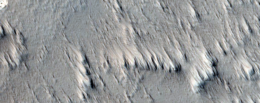 Candidate Pit on Northeast Flank of Arsia Mons