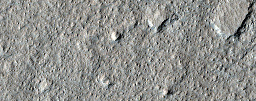Sample of Northern Amazonis Planitia Dust-Raising Event Monitoring