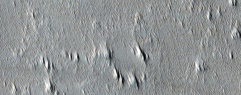 New Craters on Mars