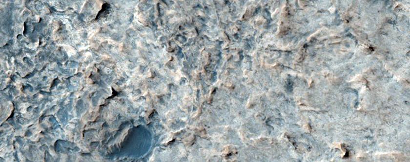 Light-Toned Rocks in Terra Meridiani