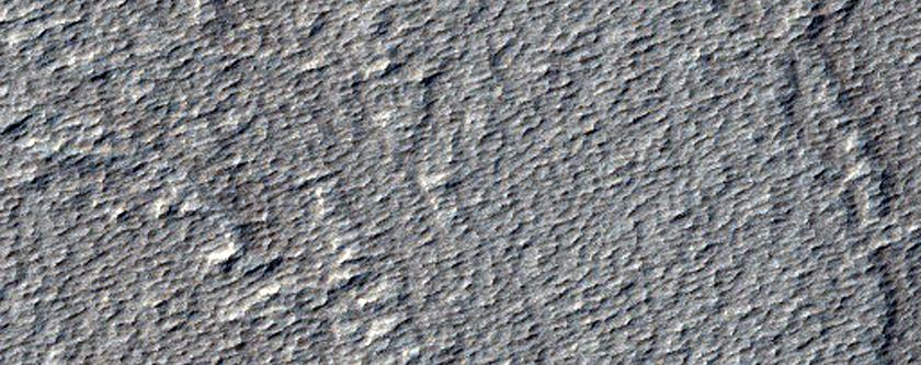 Small Volcano in THEMIS Image V27487001