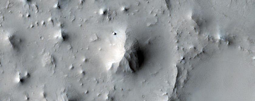 Terrain Northwest of Antoniadi Crater