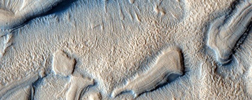 Terrain Near Ismenius Lacus