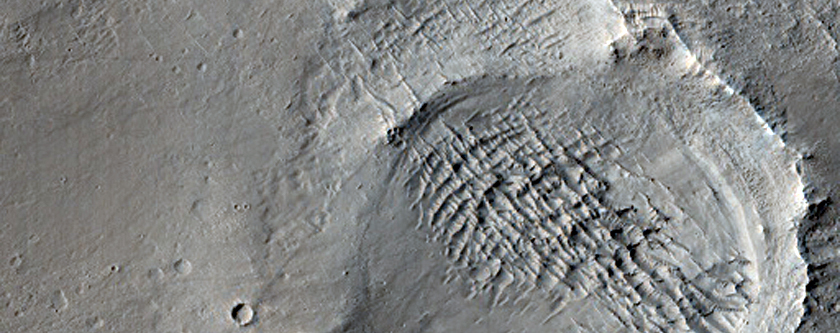 Sample of a Valley Network in South-Central Arabia Terra