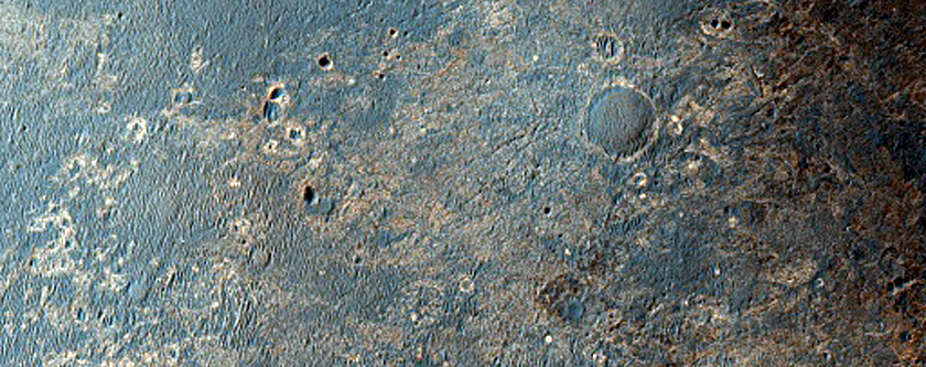 MER Opportunity Rover Long Range Traverse Planning Image