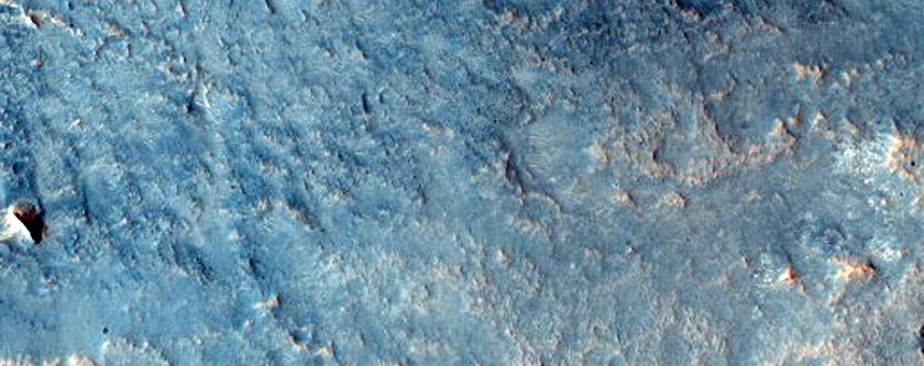 Complex Crater in Arabia Terra