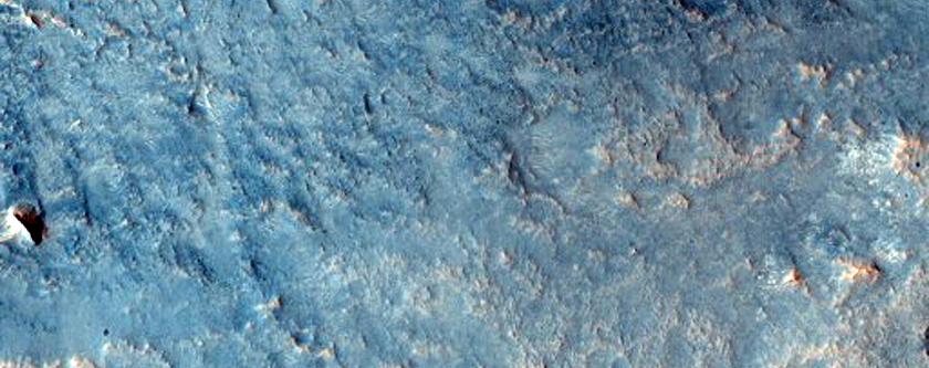 A Complex Crater in Arabia Terra