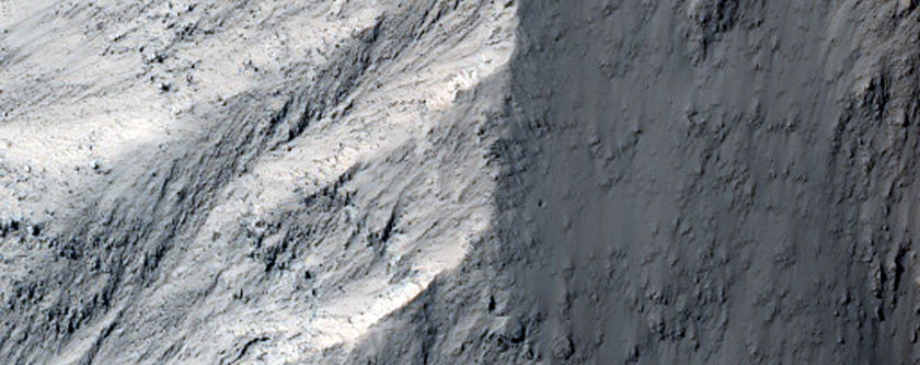 Central Peak of Gale Crater