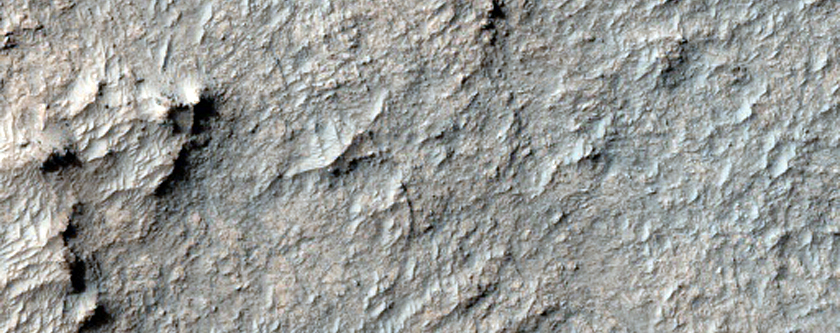 Sample of Possible Pyroxene-Rich Terrain