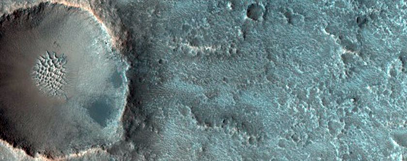 Possible Olivine-Rich Terrain