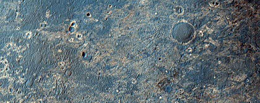 MER Opportunity Rover Long-Range Traverse Planning Image