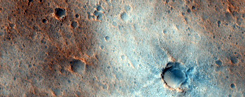 Sample of Distal Ares and Tiu Valles