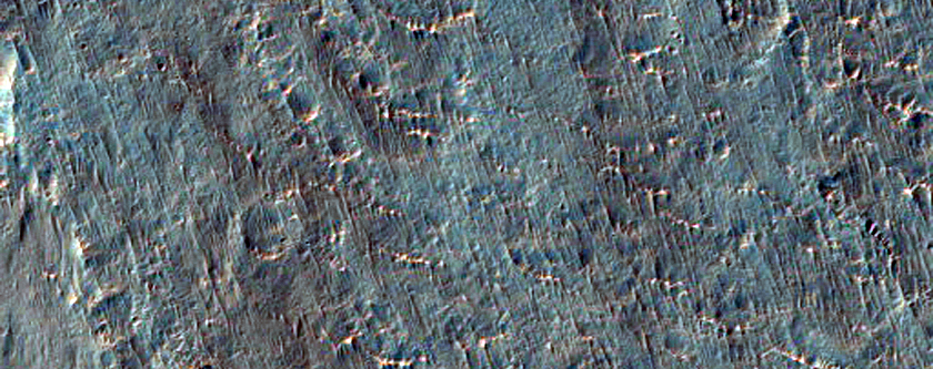 Light-Toned Layering in Ladon Valles