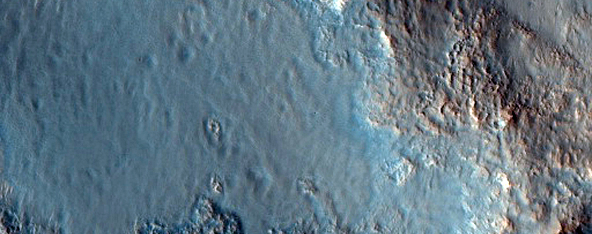 Mohawk Crater Central Uplift