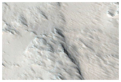 Channel Head on Pavonis Mons
